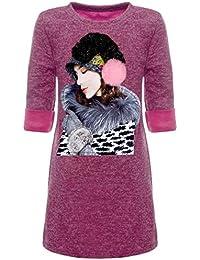 BEZLIT Mädchen Tunika Pullover Motiv Print 22849