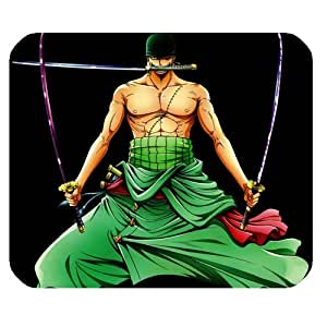 Fashion Mouse Mat Anime One Piece Zoro Customized Rectangle Mousepad
