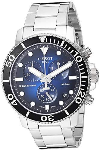 Tissot Herren-Uhren Analog Quarz One Size Edelstahl 87846903
