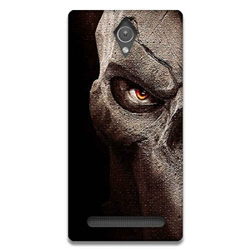 The Racoon Lean printed designer hard back mobile phone case cover for Asus Zenfone C. (Red Eye)  available at amazon for Rs.99