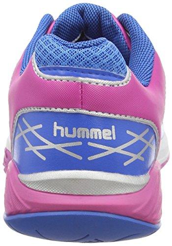 hummel HUMMEL OMNICOURT Z4 Damen Hallenschuhe Weiß (White / Rose Violett / Directoire B 9798)
