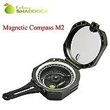Easy Catch® Magnetische Kompass Pocket stoßfest Multifunktions-fluoreszierend mit Tasche Navigation Survival Werkzeug für Outdoor Camping Wandern Aktivitäten