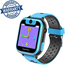 VANNICO Smartwatch Niños, Reloj Niños, Reloj Inteligente, Juegos de Pantalla táctil Smartswatch con