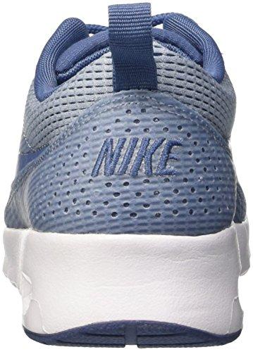 Nike W Air Max Thea Txt Scarpe da corsa, Donna Azul (BLUE GREY/OCEAN FOG-WHITE)