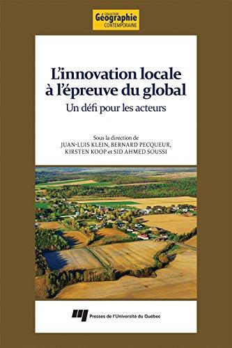 L'innovation locale à l'épreuve du global : Un défi pour les acteurs