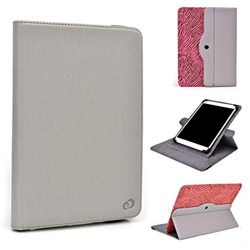 Zoll 9 Lenovo Tablet (Kompatibel mit Lenovo ThinkPad 10 Tablet Kroo Universal für 9-10-inch 360 drehbar Tablet grau)