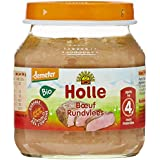 Holle Petit Pot Viande de Boeuf Bio 125 g