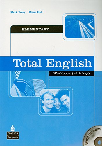 Total English Elementary Workbook with Key and CD-Rom Pack by Mark Foley (25-Apr-2005) Paperback