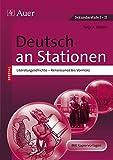 Deutsch an Stationen spezial Literaturgeschichte 1: Renaissance bis Vormärz (5. bis 13. Klasse) (Stationentraining Sekundarstufe Deutsch)