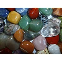 AMAHOFF® 1 Kg | Jumbo |Trommelsteine | Natursteine | Halbedelsteine