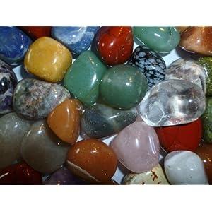 1 Kg Jumbo Trommelsteine Sortiment Natursteine