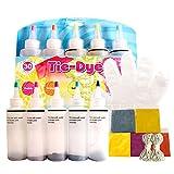 DIY Tie-Dye Kit 5 kleuren One Step Clothing Graffiti Dye Party Supplies for Family Entertainment