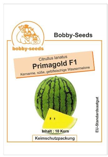 Bobby-Seeds Melonensamen Primagold F1 Wassermelone Portion