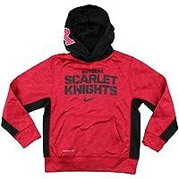 41c8faba1 Nike NCAA Big Boys Youth Rutgers Scarlet Knights DriFit Athletic Pullover  con Cappuccio