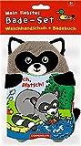 Mein liebstes Bade-Set: Badebuch & Waschhandschuh: Plitsch, platsch, kleiner Waschbär!