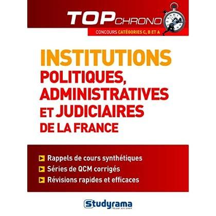 Institutions politiques, administratives et judiciaires de la France