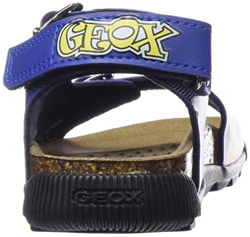 Geox Storm I, Sandales Bout Ouvert Garçon Bleu (C4401)