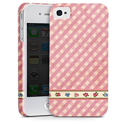 Apple iPhone X Silikon Hülle Case Schutzhülle Karo Mädchen Oktoberfest Premium Case glänzend