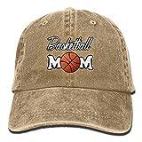 No Soy Como Tu Hüte,Kappen Mützen Basketball Mom Denim Hat Adjustable Unisex Snapback Baseball Cap