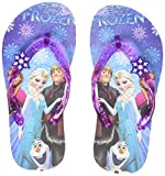 Frozen Girl's Flip-Flops-11 UK (30 EU) (12 Kids US) (FZPGFF2130 Purple)