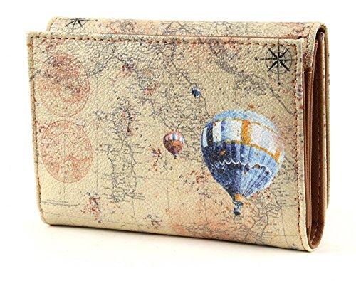 Y NOT? Linea Discover Wallet Small Beige Beige