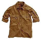 Kakadu Traders Australia - Camisa Casual - para Hombre, Hombre, Color Tobacco, tamaño Small