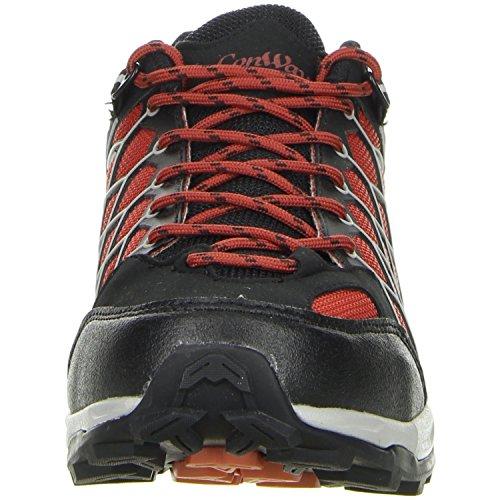 ConWay Herren Trekkingschuhe Outdoorschuhe rot Rot