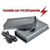 MiraBox HDMI Powerline Extender HD 1080P Con Deep Color & HD Audio con Trasmettitore Di Telecomando IR Fino a 984ft Sopra la Linea Elettrica Domestica