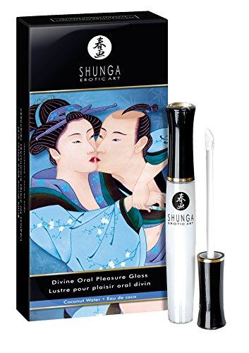 Shunga Erotisches Massageöl Serenity (Heiterkeit) mit Monoi, 1er Pack (1 x 0.01 l)