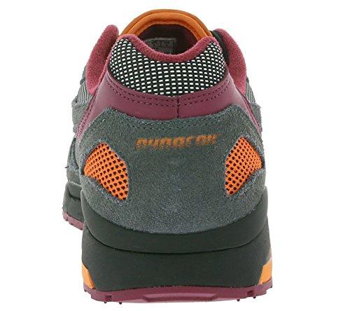 Kangaroos, Sneaker Homme Oliv / Orange Taille Unique Gris (gris)