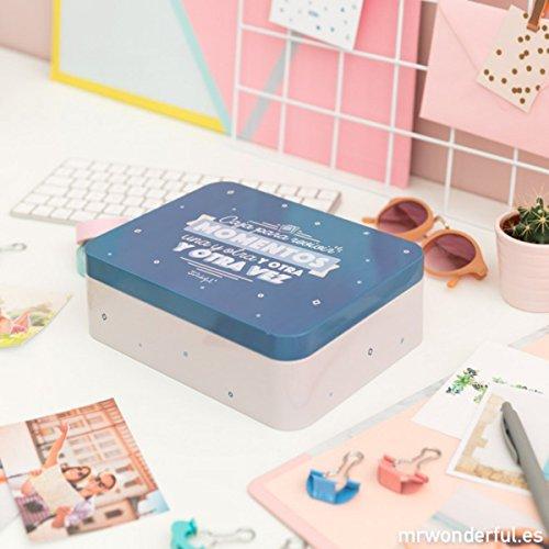 Caja Metálica Mr. Wonderful: Caja para revivir Momentos una y Otra y Otra y Otra Vez