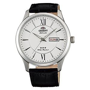 Orient Reloj Analógico para Unisex Adultos de Automático con Correa en