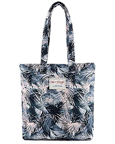 [HotStyle Fashion Printed] Plam Leaves Womens Handbag Casual Tote Bag