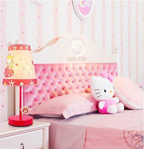MEI-lamp Kindertischlampe Schlafzimmer Nacht Studie Art und Weise neue nette Karikatur Prinzessin Raum ländlichen warme LED-Beleuchtung