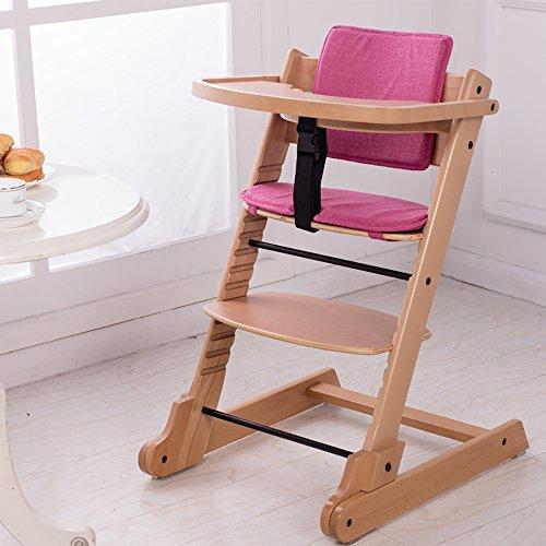 LJHA Tabouret pliable Siège multifonctionnel en bois solide/chaises de diner créatives de bébé/chaise pliante d'enfants chaise patchwork (Couleur : C)