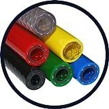 Hilltop Tubo intrecciato in PVC rinforzato food grade–3/10,2cm–19.0mm i/D x 26.0mm o/D x 3.5mm da parete (verde)