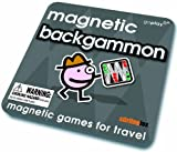 Magnetic Backgammon - Travel Family Board Game - Ideal for Holiday - Goplay