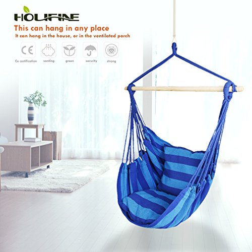 Holifine Suspendu Hamac Chaise Jardin