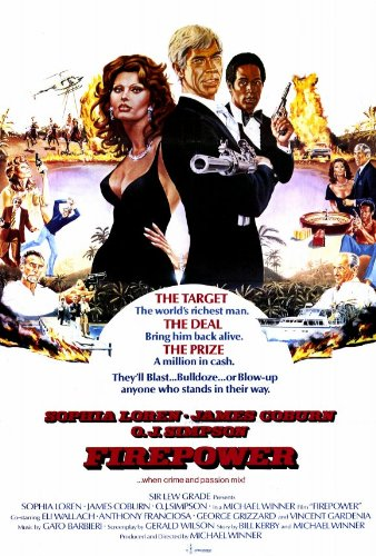 Firepower Poster Movie 27 x 40 In - 69cm x 102cm Sophia Loren James Coburn O.J. Simpson Eli Wallach Anthony Franciosa Test