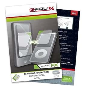 atFoliX FX-Mirror Displayschutzfolie für Motorola DEFY+