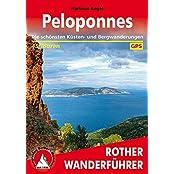 Rother Wanderführer / Peloponnes: Die schönsten Küsten- und Bergwanderungen. 45 Touren. Mit GPS-Tracks