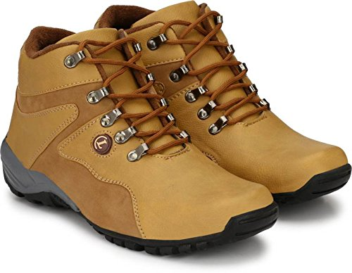T-Rock Synthetic Leather Tan Casual Shoes