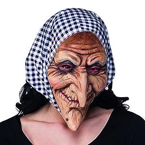 Careta de Anciana con Pañuelo