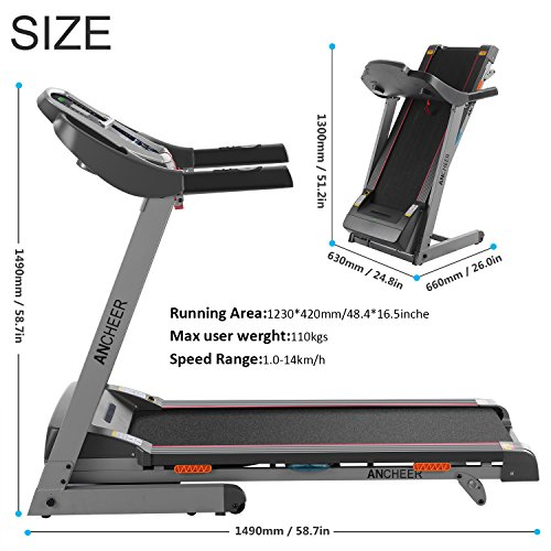 Treadmill F18 Motorised – Treadmills