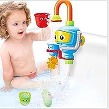 Bebé Juguetes para el baño de agua de ducha Bañera pulverizador juguete Fuente para niños Niños Bebés