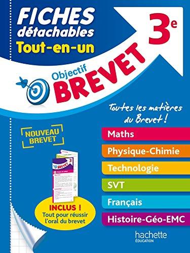Objectif Brevet 3e - Fiches dtachables Tout-en-Un