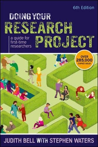 Doing Your Research Project: A Guide For First-Time Researchers (UK Higher Education OUP Humanities & Social Sciences Study S)