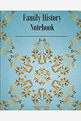 Family History Notebook Paperback