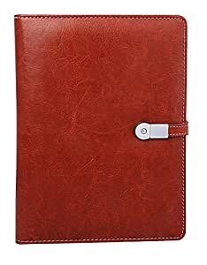 Idol Collections Note Book Diary with 8gb pen drive and 4000 Mah power Bank + Refillable sheets