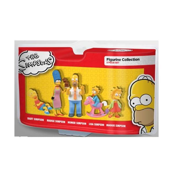 Abysses Los Simpsons - Juego de 5 Figuras de colección 1